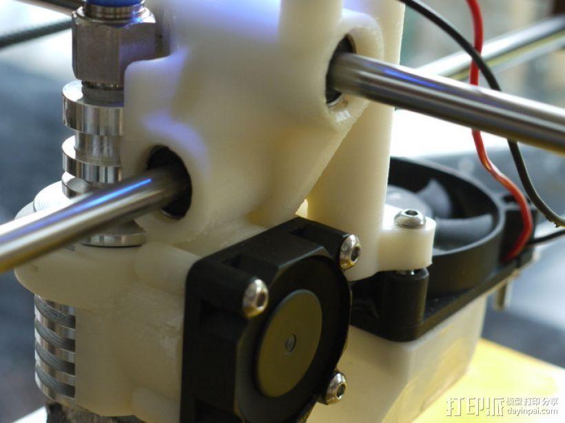 打印机喷嘴支架 3D打印模型渲染图