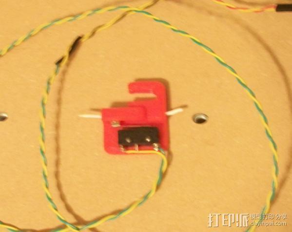 线材固定器 导线器  3D打印模型渲染图