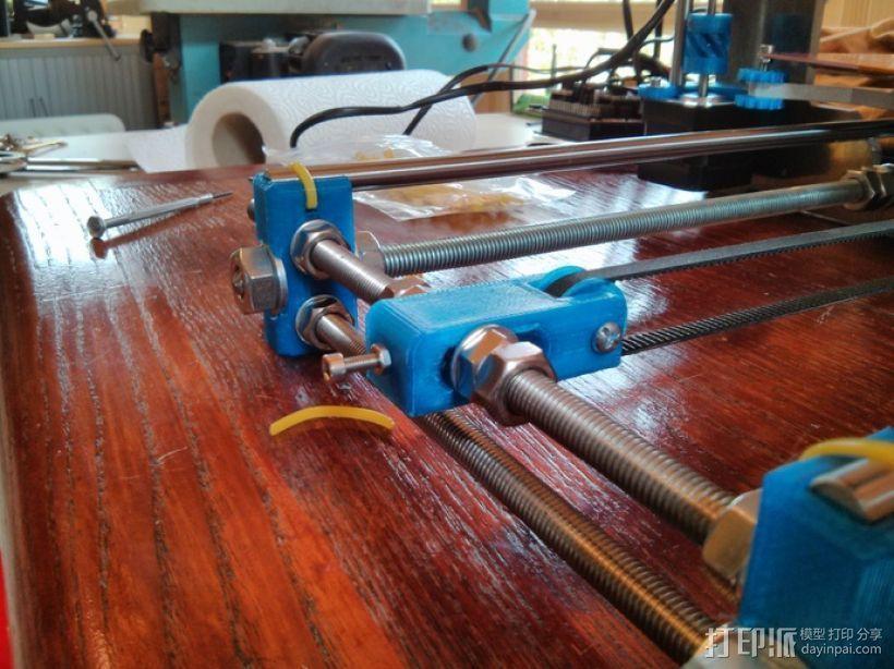 打印机Y轴惰轮 3D打印模型渲染图