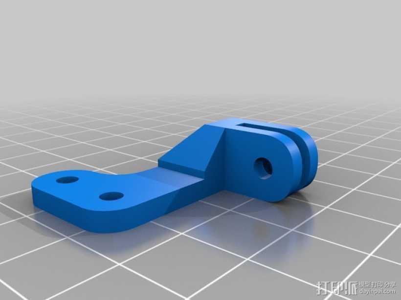 风扇导管 3D打印模型渲染图