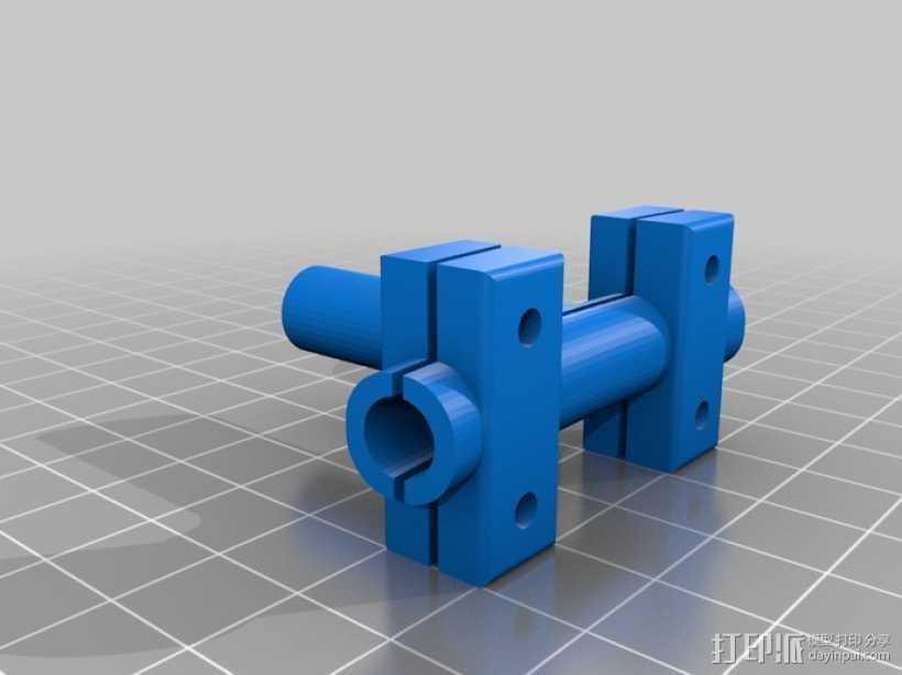 润滑器 3D打印模型渲染图