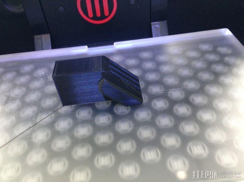SD卡收纳槽 3D打印模型渲染图