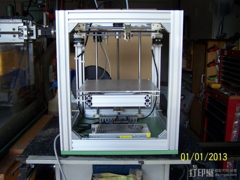 H Configured 3D 打印机 3D打印模型渲染图