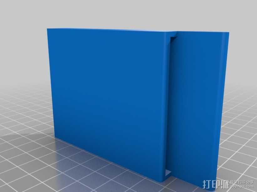 钱夹 卡包 3D打印模型渲染图