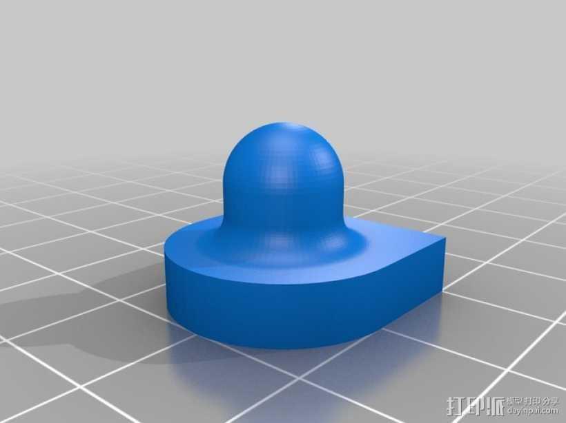 校准器 纹理 打印测试  3D打印模型渲染图