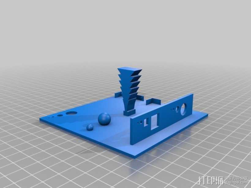 3D打印测试  3D打印模型渲染图