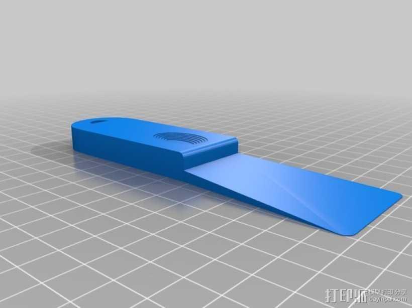 小铲子 小刮刀 3D打印模型渲染图