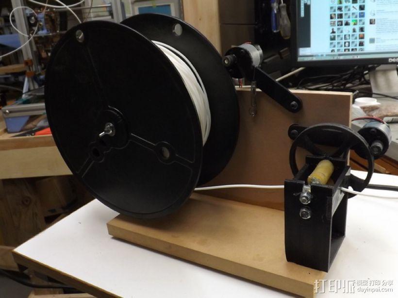 线材卷 线轴  3D打印模型渲染图