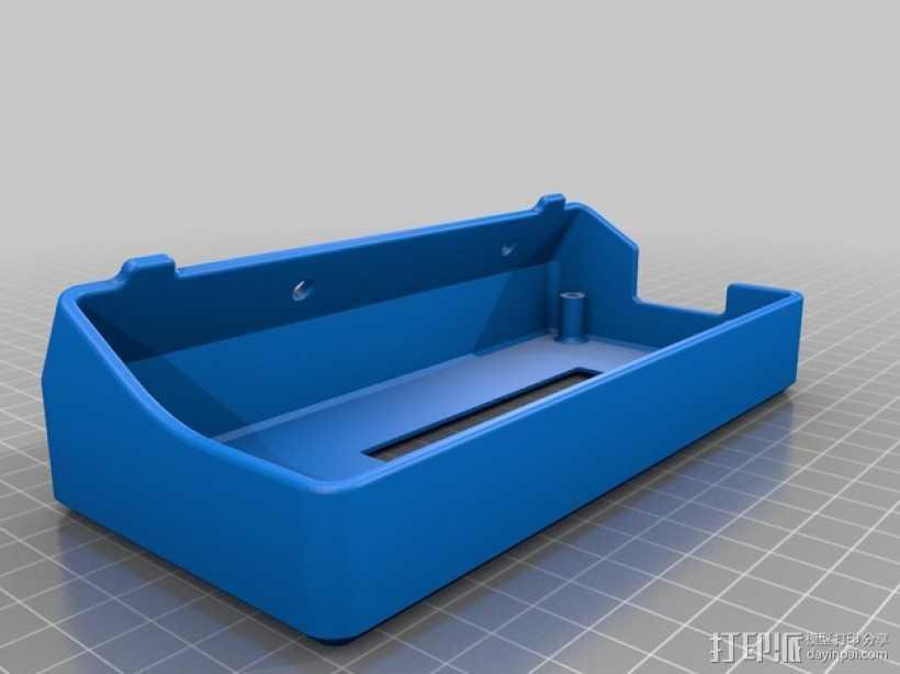 Delta仪表盘支架 3D打印模型渲染图