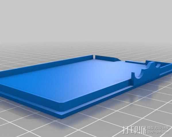 Raspberry Pi树莓派外盒 3D打印模型渲染图