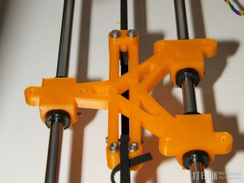LM8/LM10直线轴承支架 3D打印模型渲染图