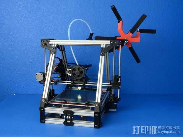 AO-100 3D打印机 3D打印模型渲染图