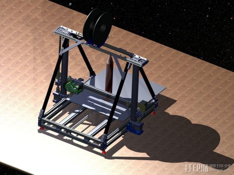 Reprap3D打印机 3D打印模型渲染图