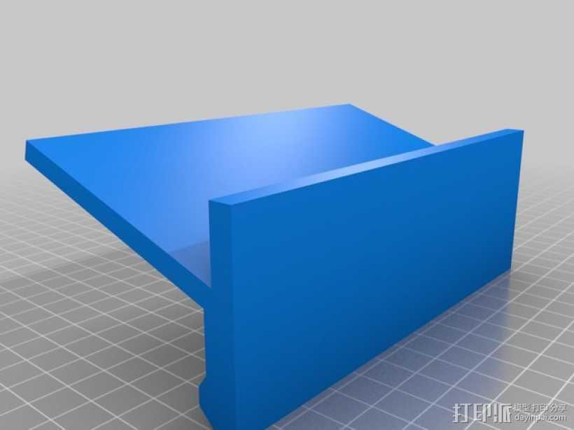 iPhone 6手机支架 3D打印模型渲染图