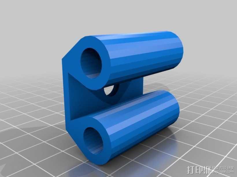 Prusa I3打印机Y轴皮带张紧器 3D打印模型渲染图