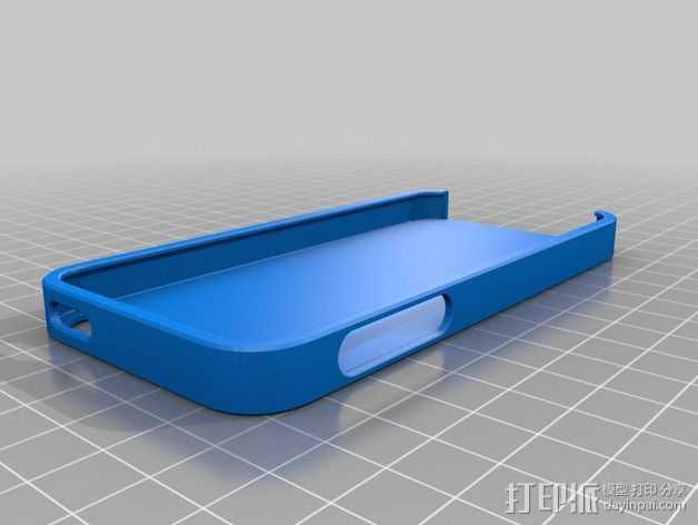 iPhone 5S手机外壳 3D打印模型渲染图