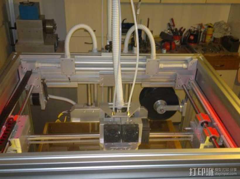 ThingMaker 3D打印机 3D打印模型渲染图