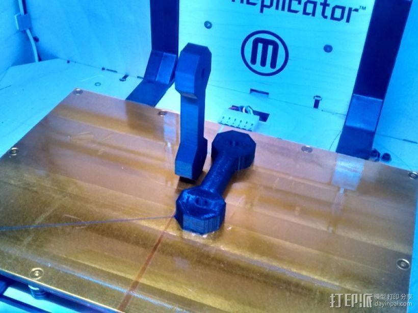 打印测试 力度测试 3D打印模型渲染图