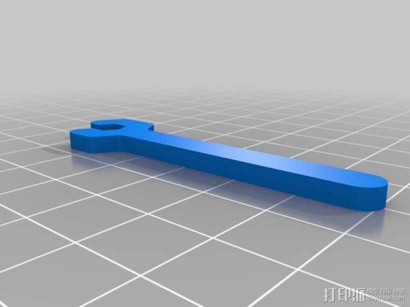 M3扳手 3D打印模型渲染图