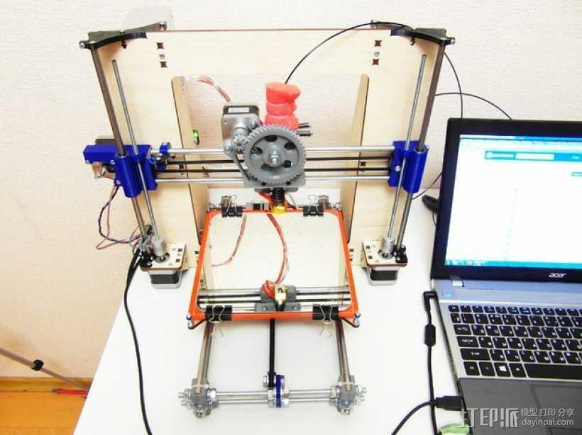 Prusa i3打印机配件 3D打印模型渲染图