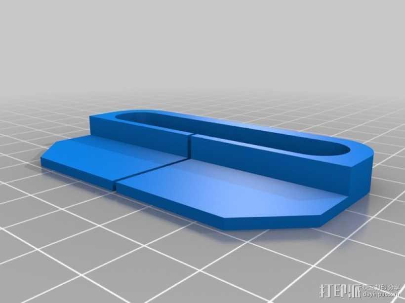 Creatr 打印机线材夹 导线器  3D打印模型渲染图