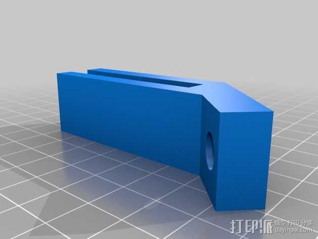 Prusa i3 线轴支架 3D打印模型渲染图