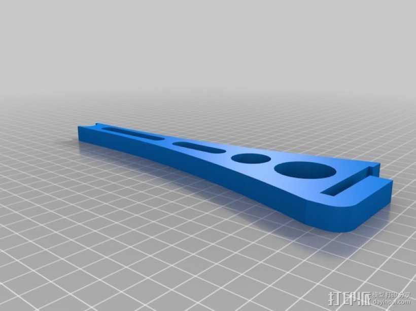 Makerfarm i3打印机线轴架 3D打印模型渲染图