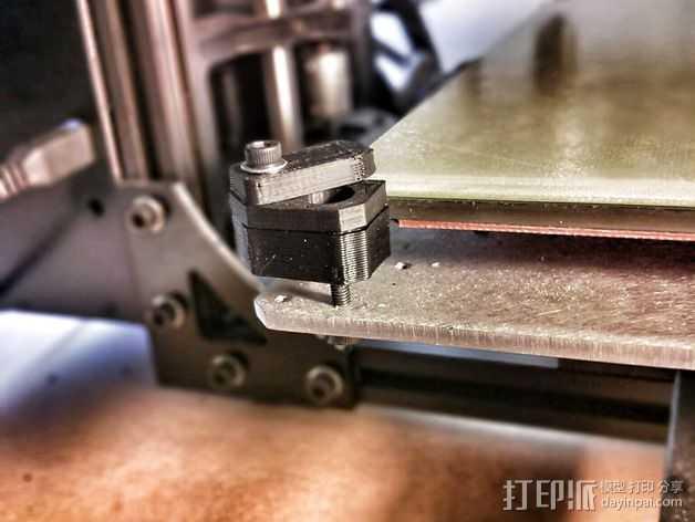 Lulzbot TAZ打印机Ninja Plate 套件 3D打印模型渲染图