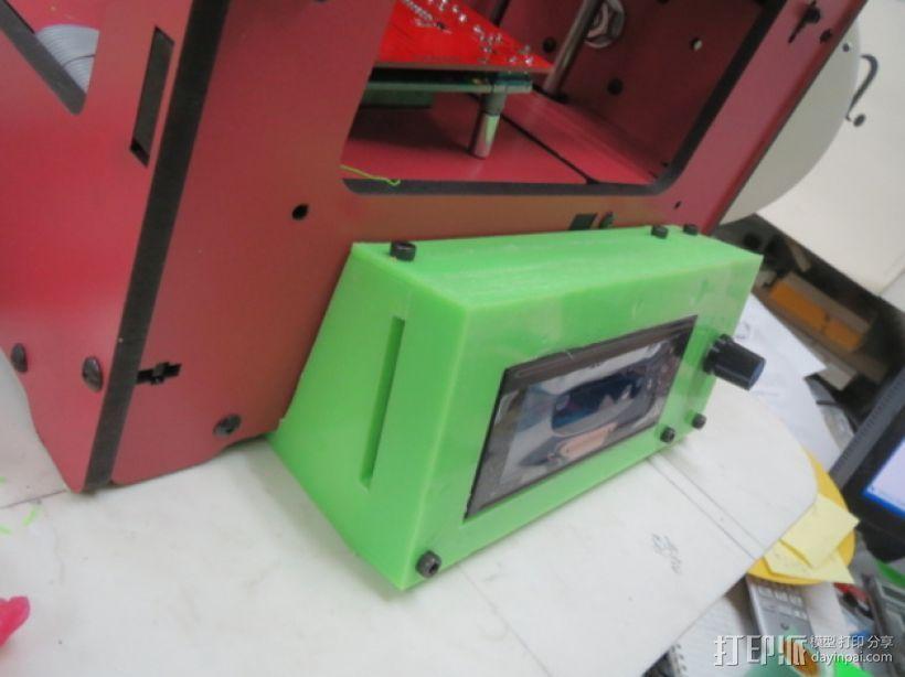 智能控制器外壳 3D打印模型渲染图