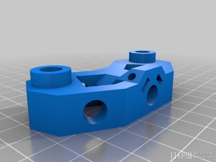 Mendel打印机接合器 3D打印模型渲染图