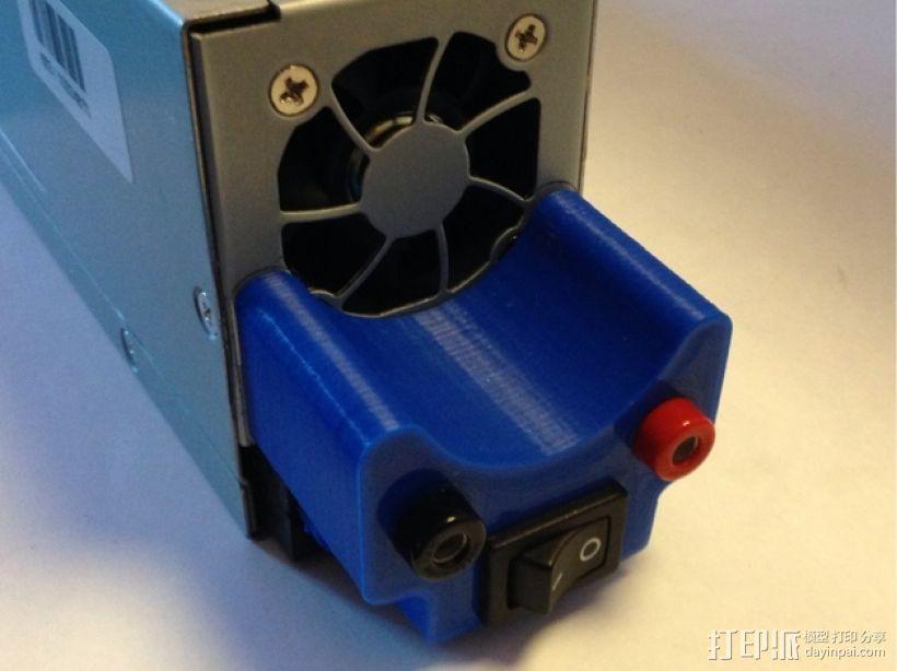 电源插头盖板  3D打印模型渲染图