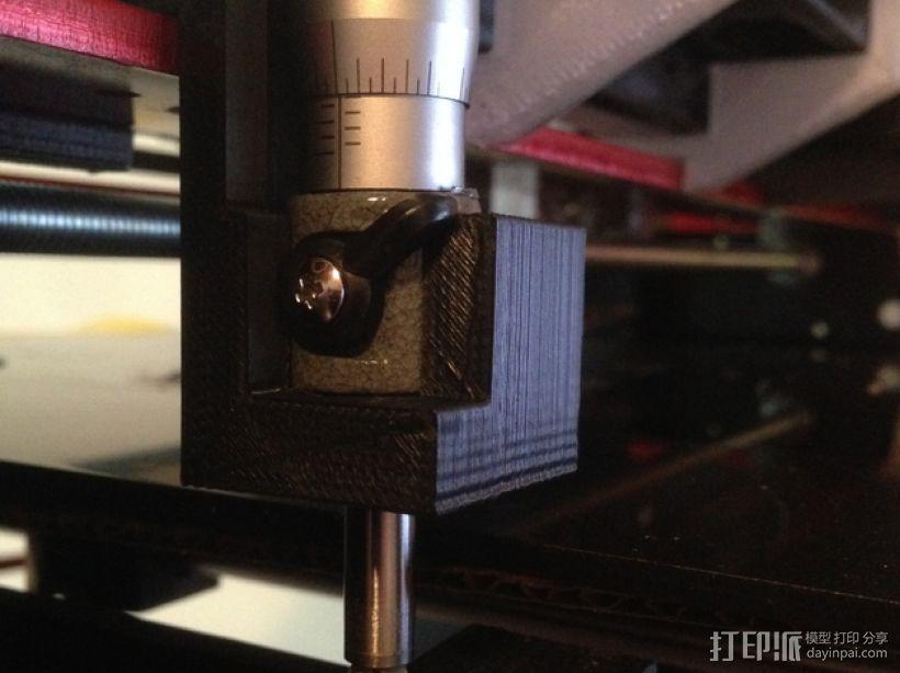微动开关 3D打印模型渲染图