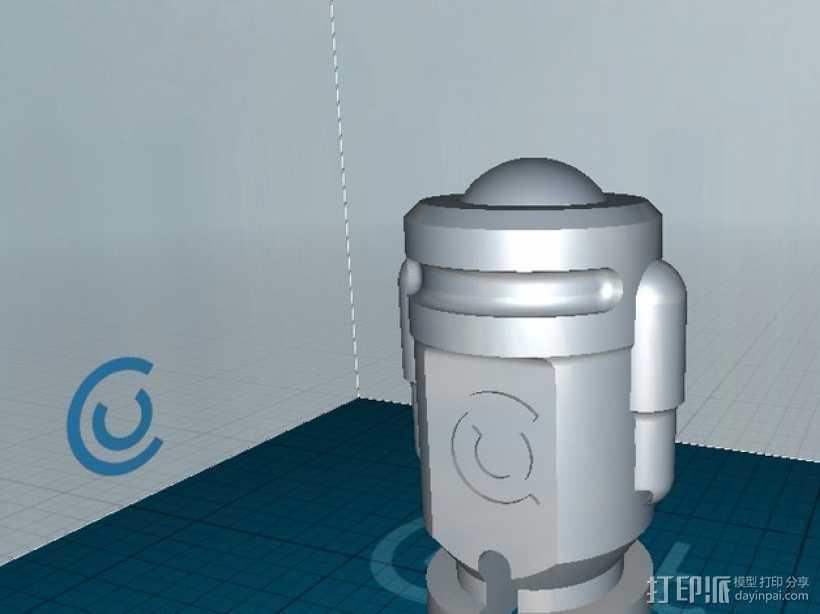 Crafty机器人 3D打印模型渲染图