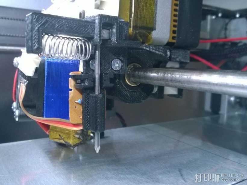 自动调平器 3D打印模型渲染图