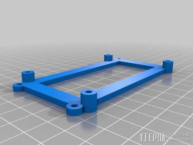 RAMPS控制主板适配器 3D打印模型渲染图
