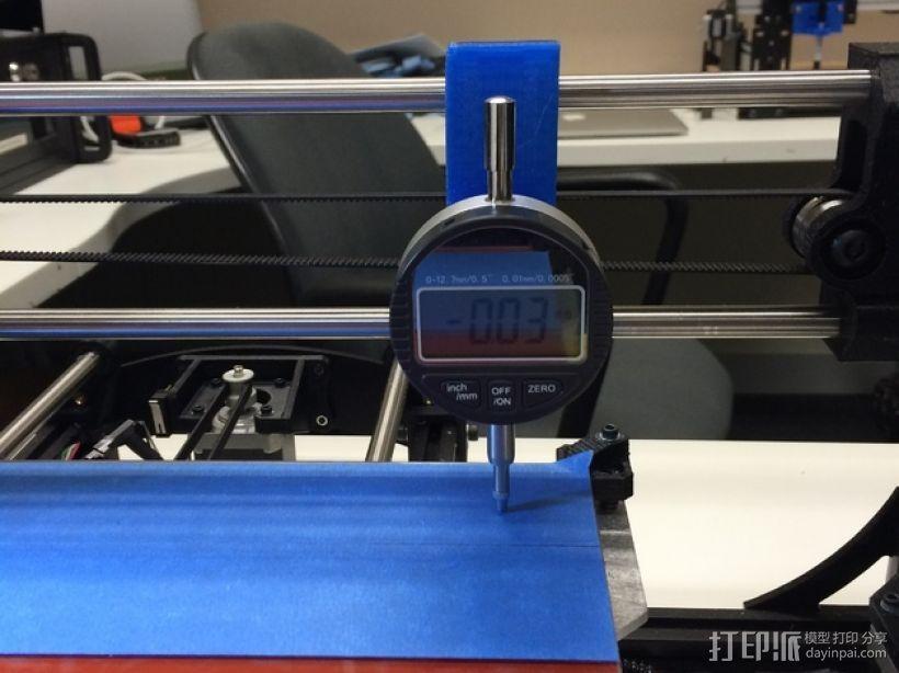 仪表盘支架 3D打印模型渲染图