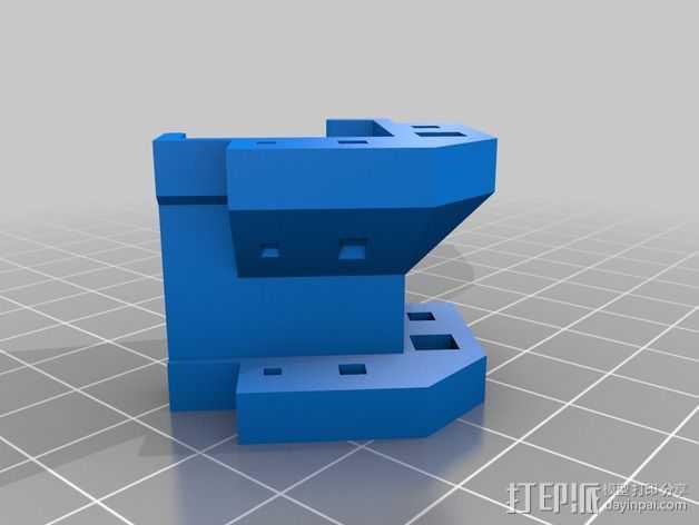 Rigidbot打印机配件 附件  3D打印模型渲染图