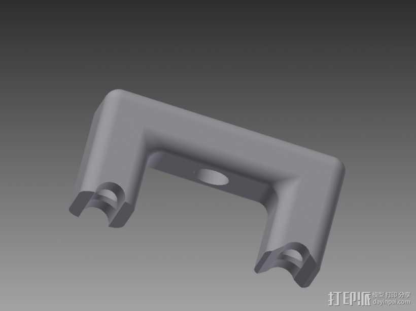 RigidBot 打印机打印床调平器  3D打印模型渲染图