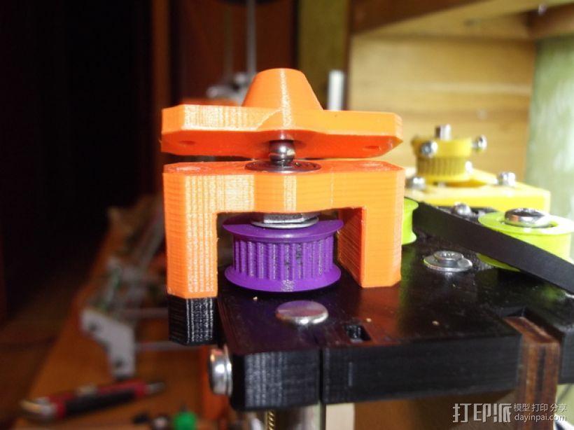 prusa i3打印机Z轴马达 3D打印模型渲染图