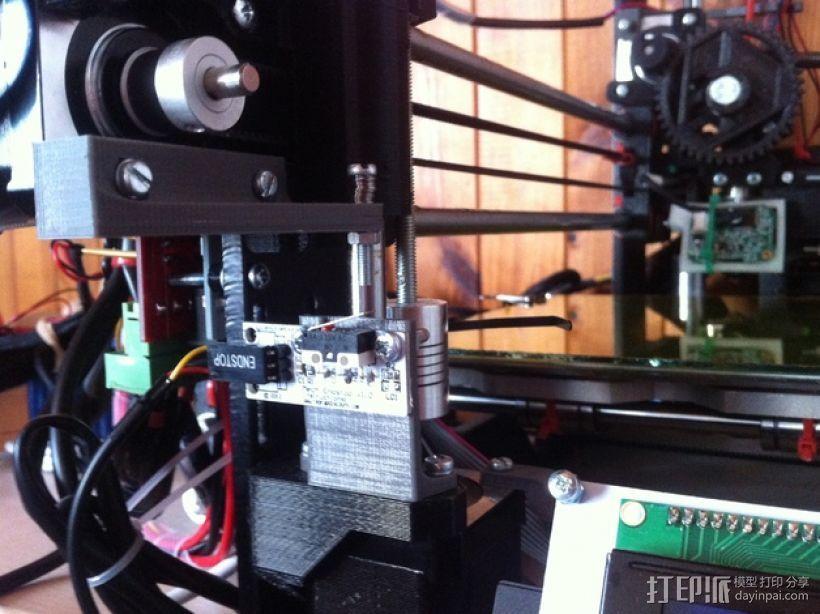 Z轴限位开关 3D打印模型渲染图