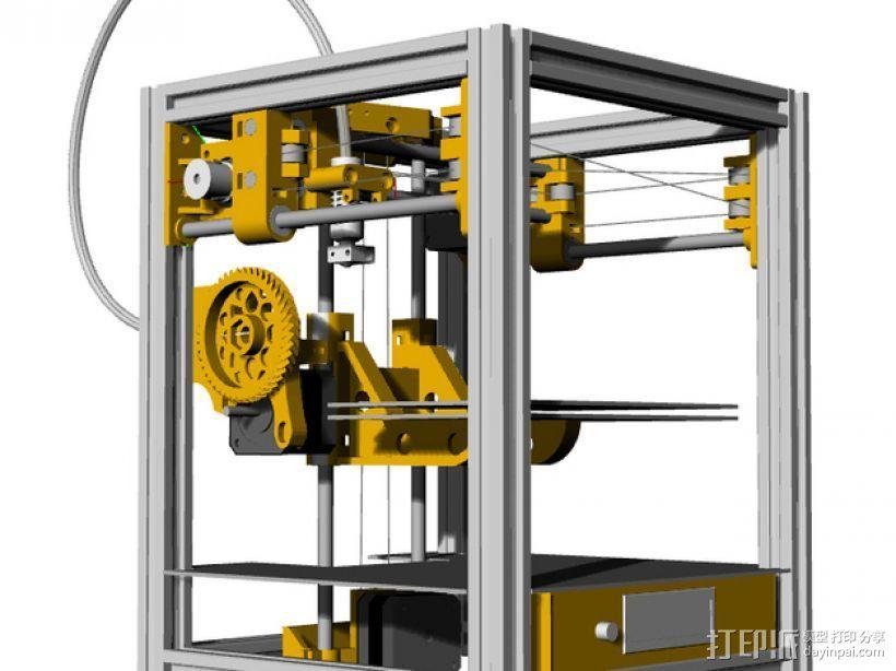 Tantilot打印机 3D打印模型渲染图