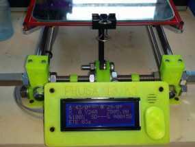Prusa I3 打印机液晶显示屏支架