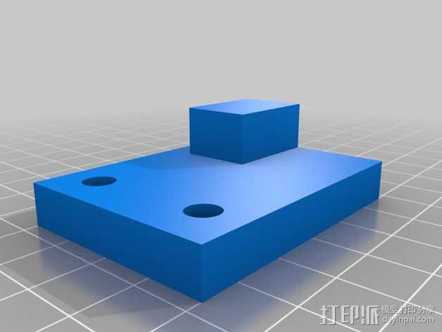 Y轴校准器 3D打印模型渲染图