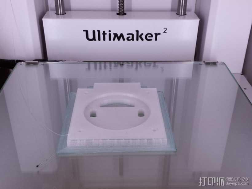 线轴连接器 3D打印模型渲染图