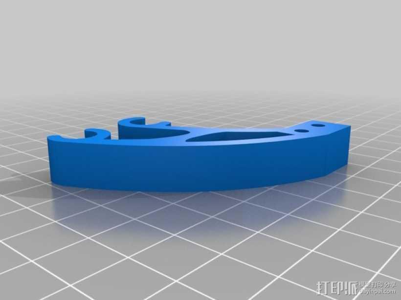 Prusa i3打印机Y轴限位开关 3D打印模型渲染图