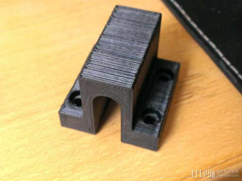 Prusa i3打印机底板支架 3D打印模型渲染图
