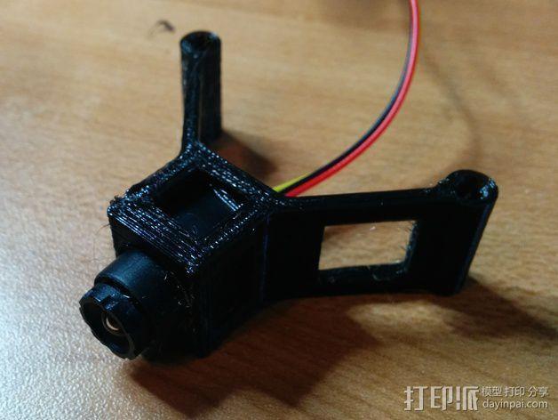 四轴式相机支架 3D打印模型渲染图