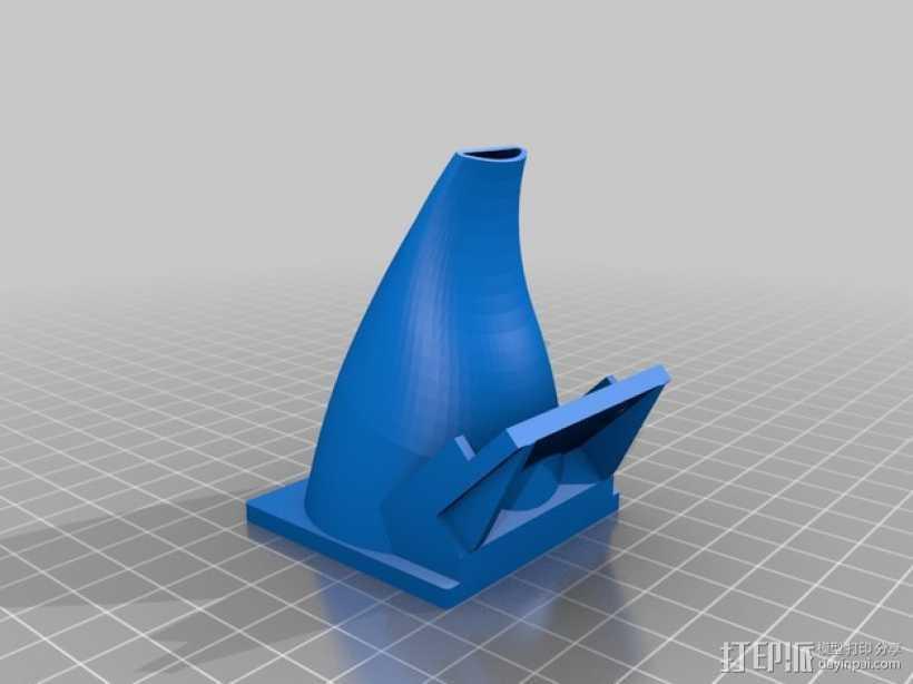 50毫米风扇支架 3D打印模型渲染图