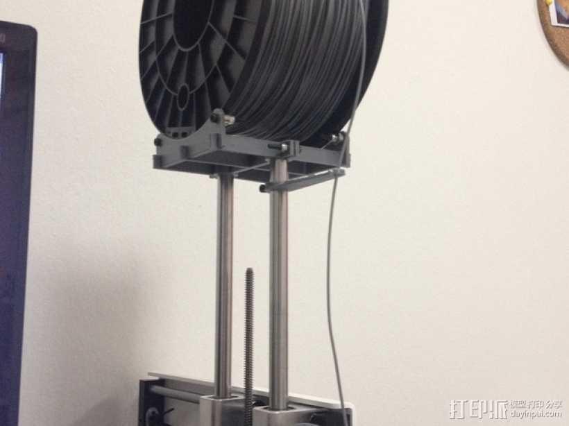 Printrbot 打印机线轴支架 3D打印模型渲染图