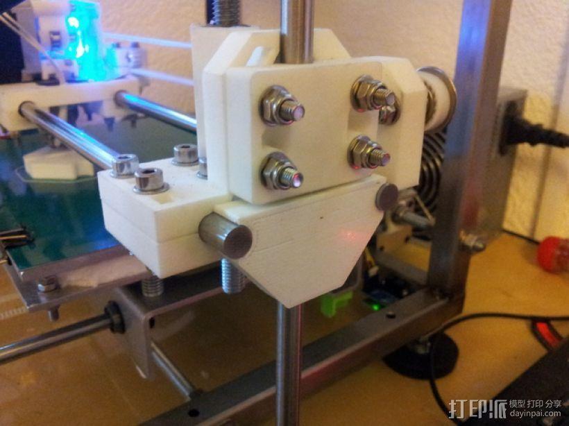 RepRap打印机Z轴稳定器 3D打印模型渲染图